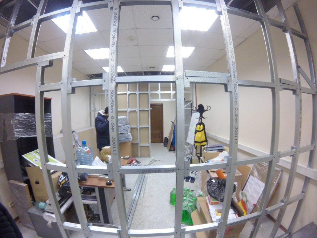 Качественная перепланировка офисов под ключ