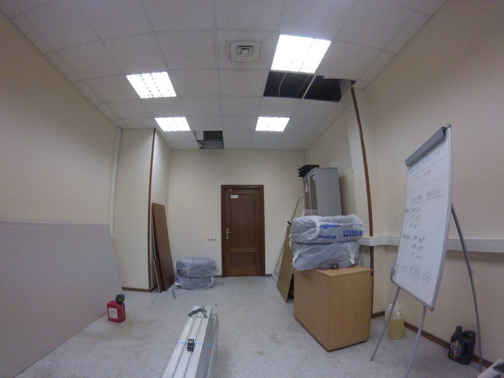 Перепланировка офисов под ключ