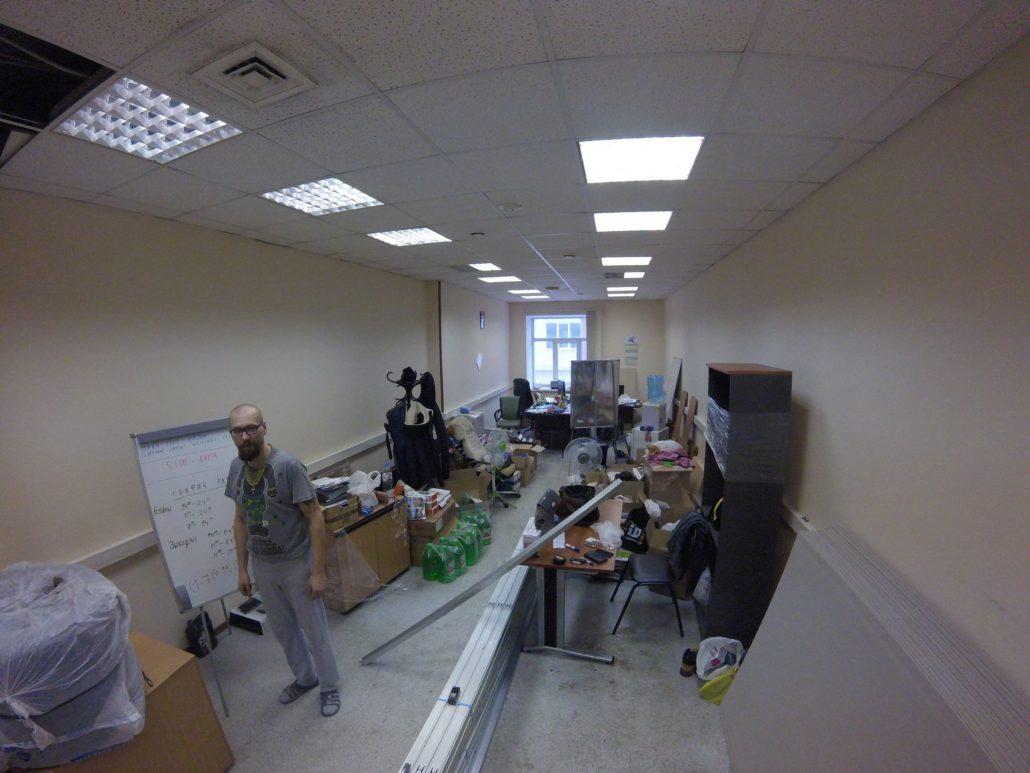 Перепланировка ремонт офиса под ключ