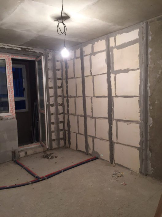 отделка квартиры под ключ часть 2