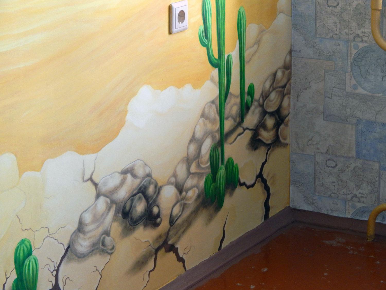 Художенственная роспись стен на заказ