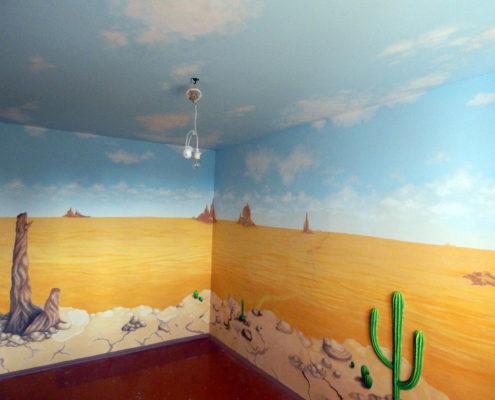 Панорамная роспись на заказ